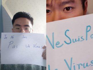 """""""Non sono un virus"""""""