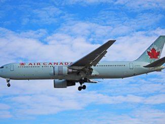emergenza volo Air Canada Madrid