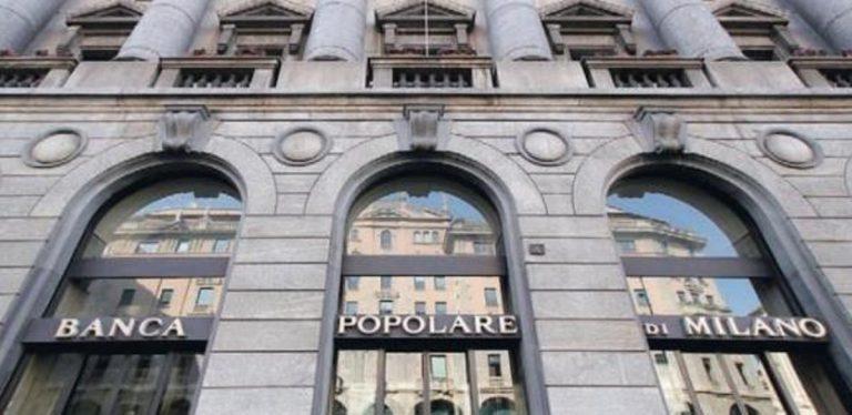 Banca popolare di Milano: sospensione mutui per emergenza coronavirus