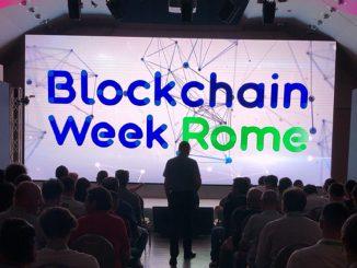 Blockchain Week Roma 2020: rinvio della seconda edizione