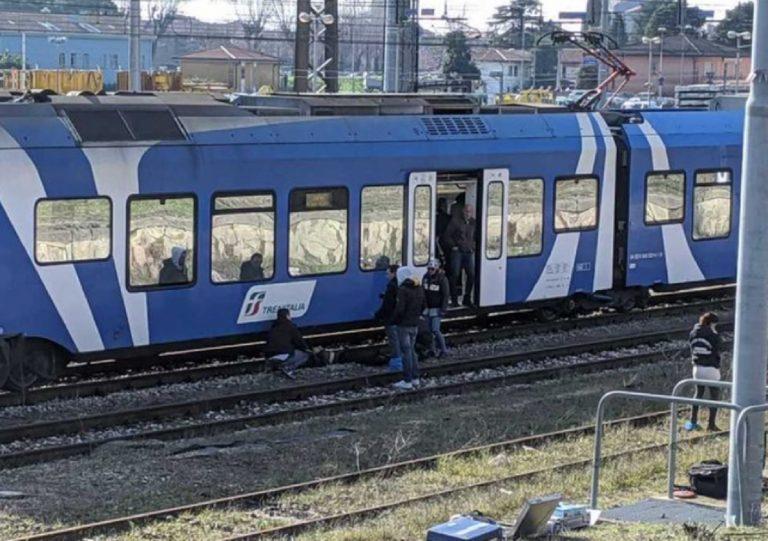 coppia travolta treno padova
