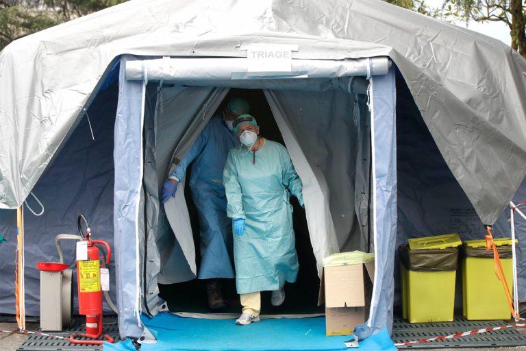 coronavirus brescia mappa contagio