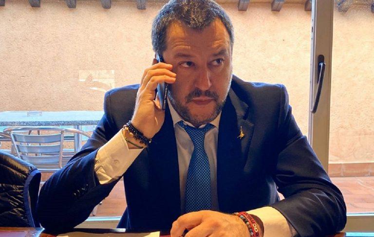 Coronavirus, parla Salvini