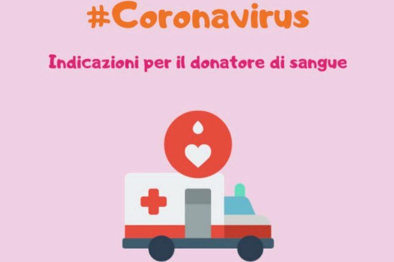 coronavirus raccolta di sangue