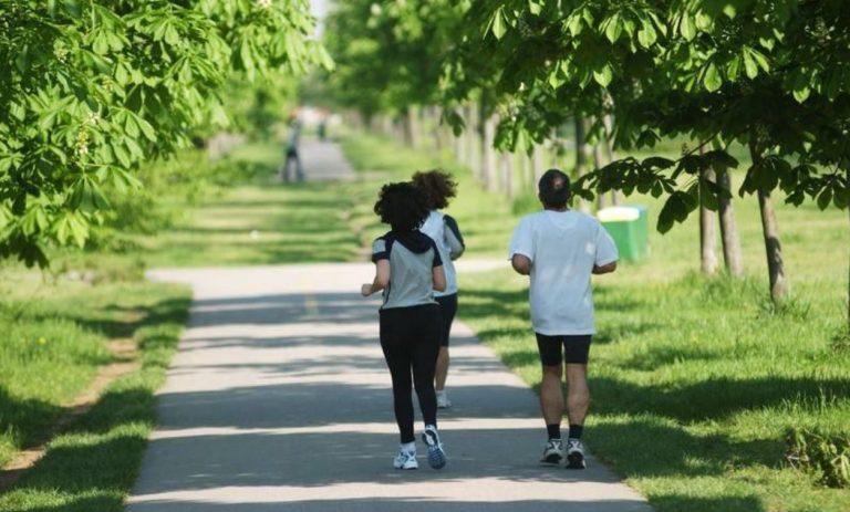 coronavirus sport al parco