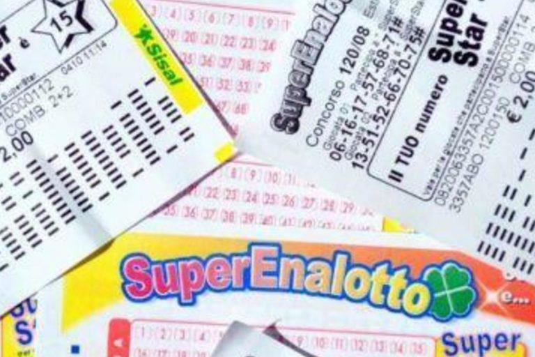 Superenalotto, vincita di 60 milioni con 3 euro: centrato 6 vincente