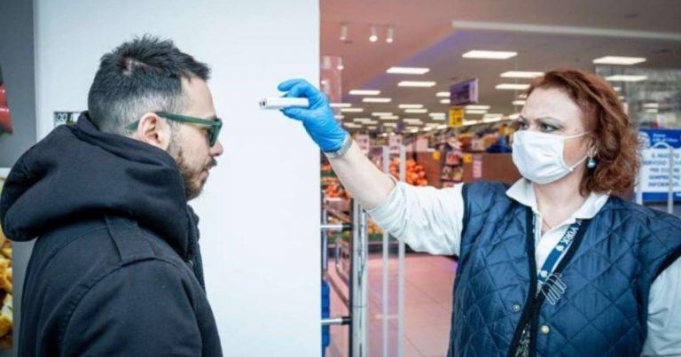 Coronavirus, a Quarto termoscanner al supermercato