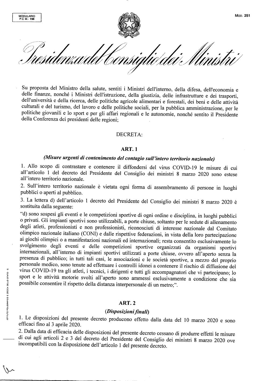 decreto pagine due