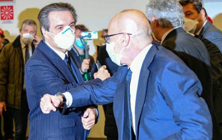 Inaugurazione ospedale Fiera Milano
