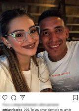 Ricardo Centurion fidanzata