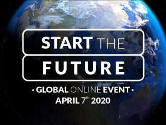 Start the future: il primo evento globale online