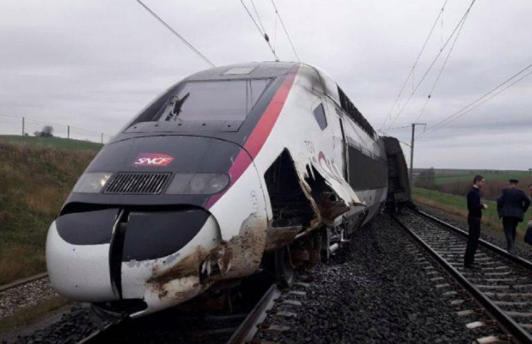 treno deragliato francia