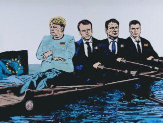"""Coronavirus, Tvboy e il monito all'Europa: """"Nessuno si salva da solo"""""""