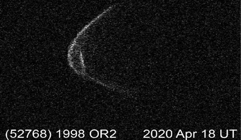 Asteroide 2020: la foto della Nasa