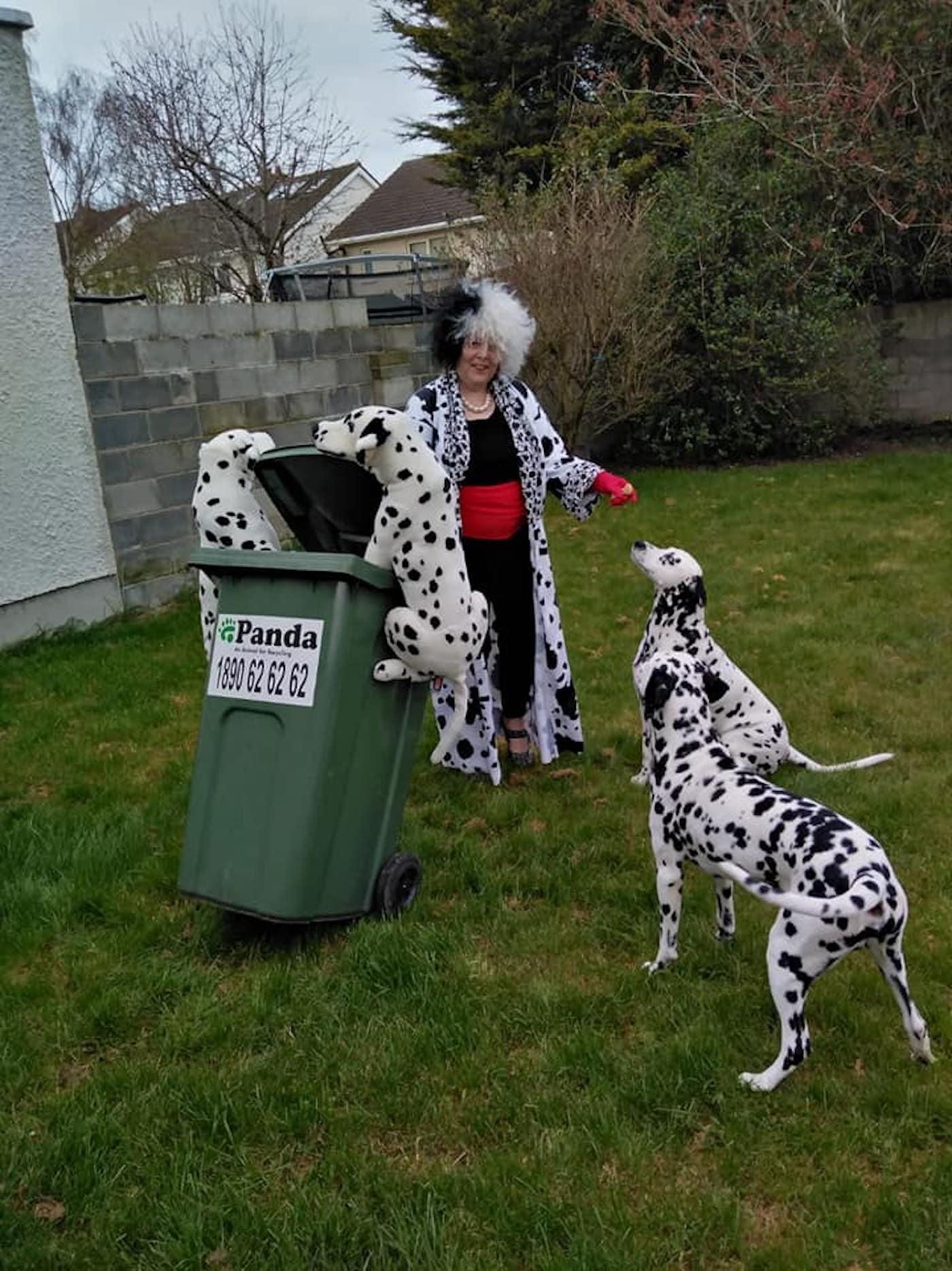 confinement australie sortie poubelles carnaval 6