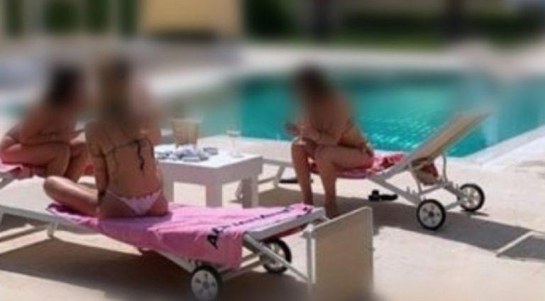 coronavirus festa piscina