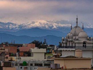 Coronavirus, dall'India si vede l'Himalaya
