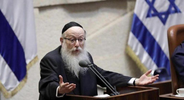 Coronavirus Israele ministro della Salute