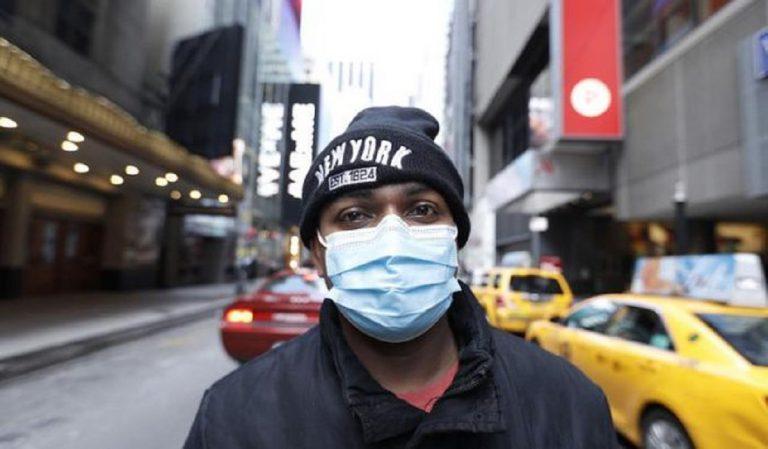 coronavirus mascherine new york