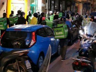Coronavirus Napoli riders Vomero