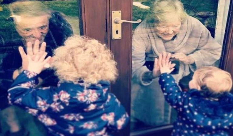 Coronaivirus, visite ai nonni in sicurezza: alcuni consigli