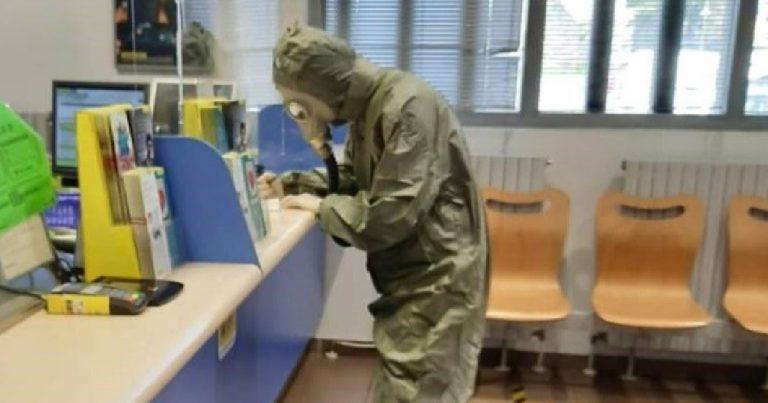Coronavirus tuta anti nucleare