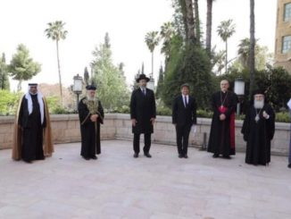 A Gerusalemme pregano insieme contro il coronavirus