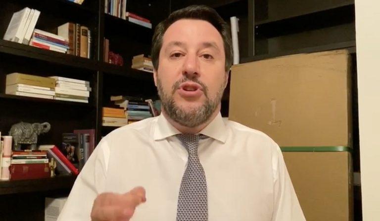 """Coronavirus, Salvini: """"Carcerati mafiosi a casa con una scusa"""""""