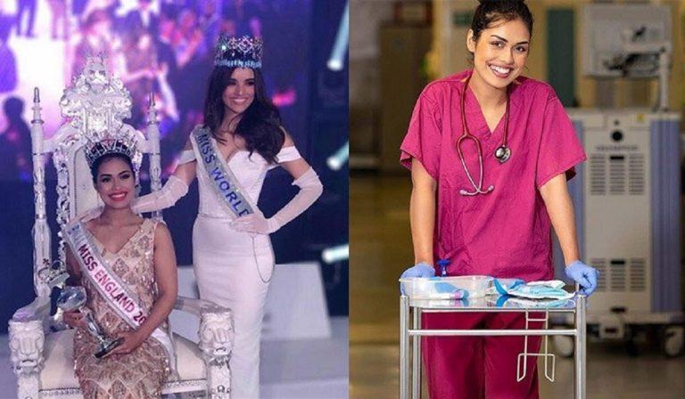 Coronavirus, Miss Inghilterra torna dottoressa