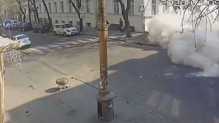 palazzo esplode odessa