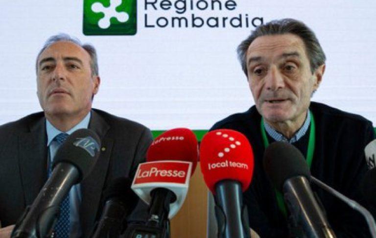 Petizione commissariamento Lombardia