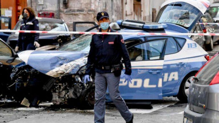 poliziotto morto a Napoli