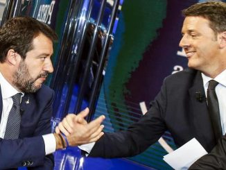 Salvini Renzi cadere governo
