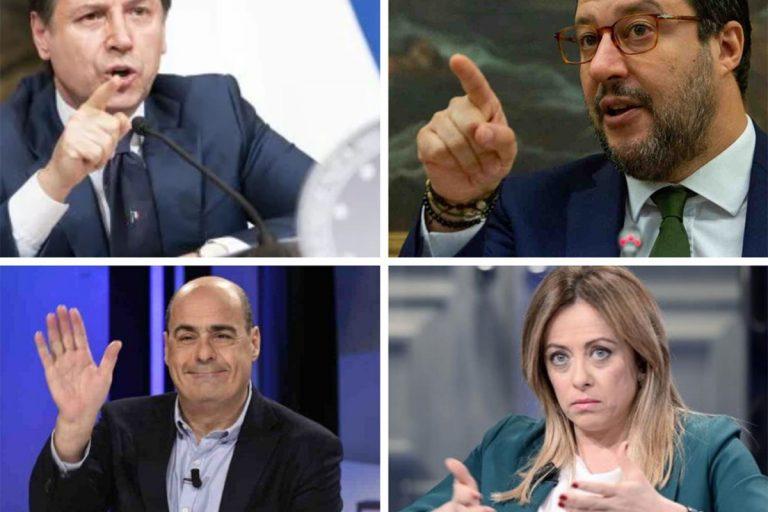 Sondaggi politici 25 giugno