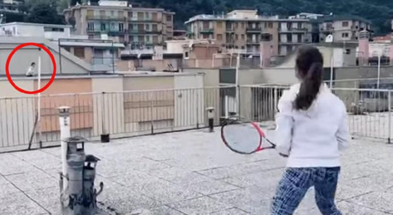 tennis finale club video