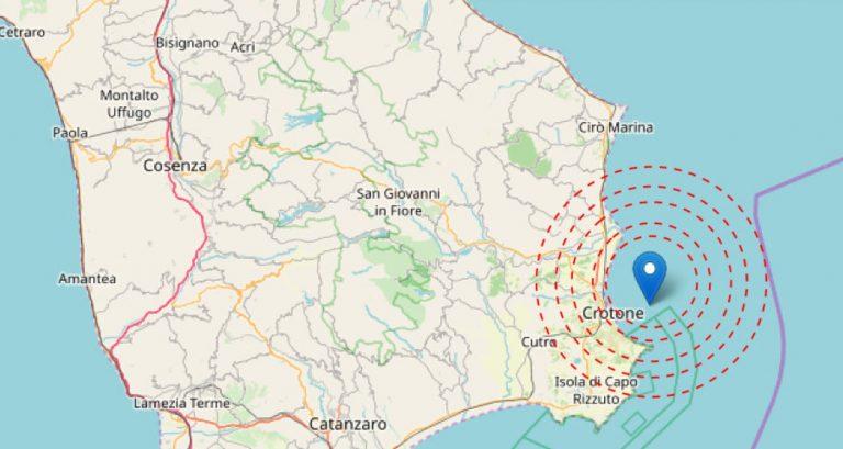 terremoto a crotone