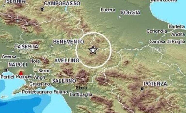 terremoto ad avellino