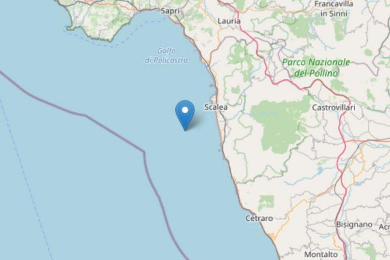 terremoto provincia cosenza
