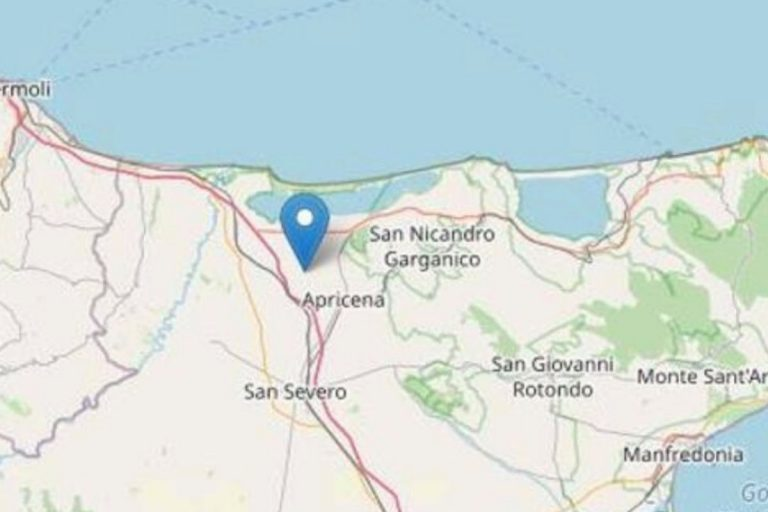 terremoto provincia foggia