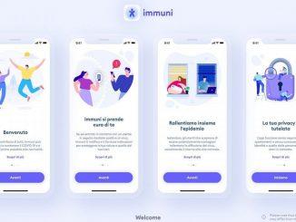 Bending Spoons pubblica le prime schermate dell'App Immuni
