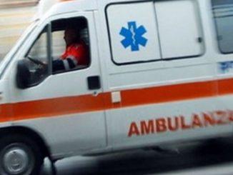 Ambulanza in corsa