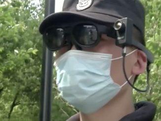 Cina occhiali rilevano febbre