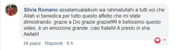 commento silvia romano