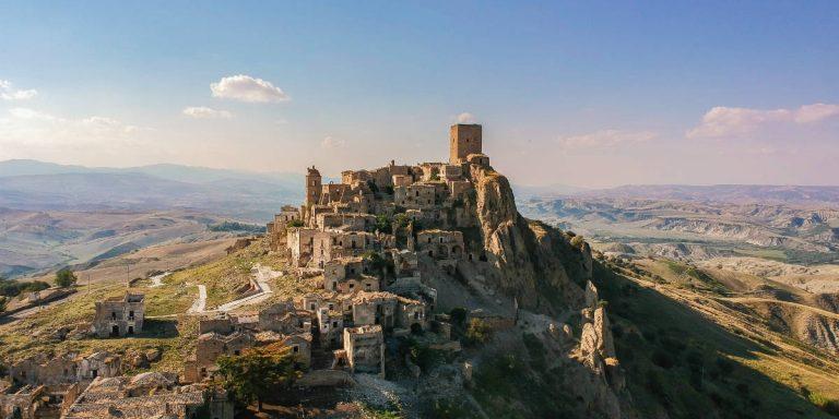 Craco, città fantasma della Basilicata