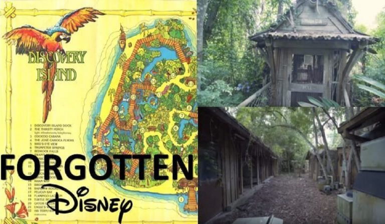 Abbandonata dal '99 l'isola Dicovery del parco Disney Orlando