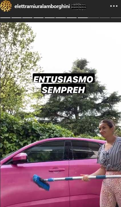 Elettra Lamborghini automobile