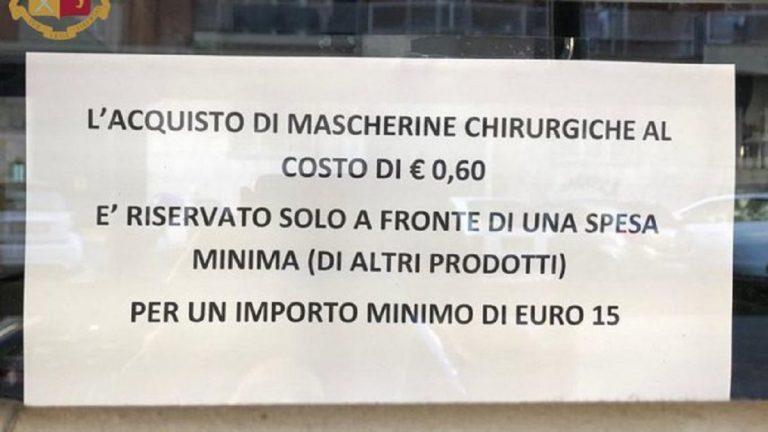 farmacista 15 euro mascherine