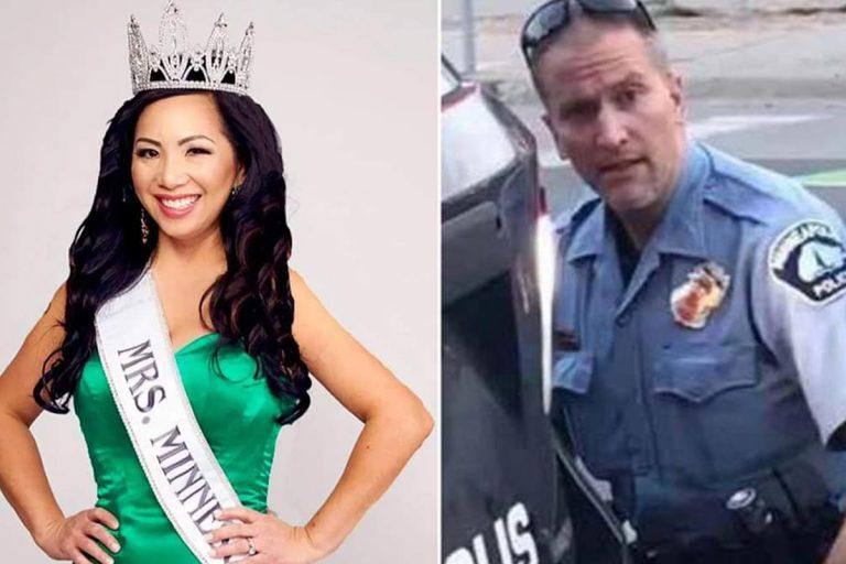 George Floyd moglie poliziotto