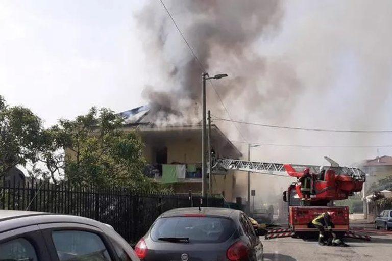 incendio abitazione morta donna