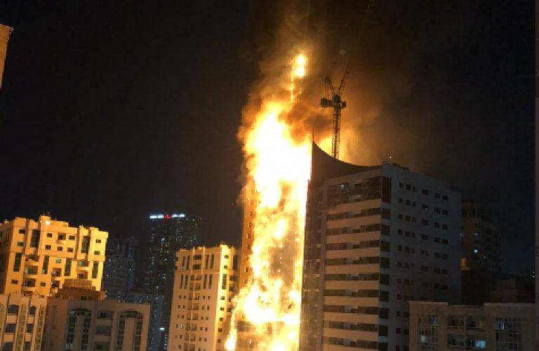 Incendio grattacielo dubai